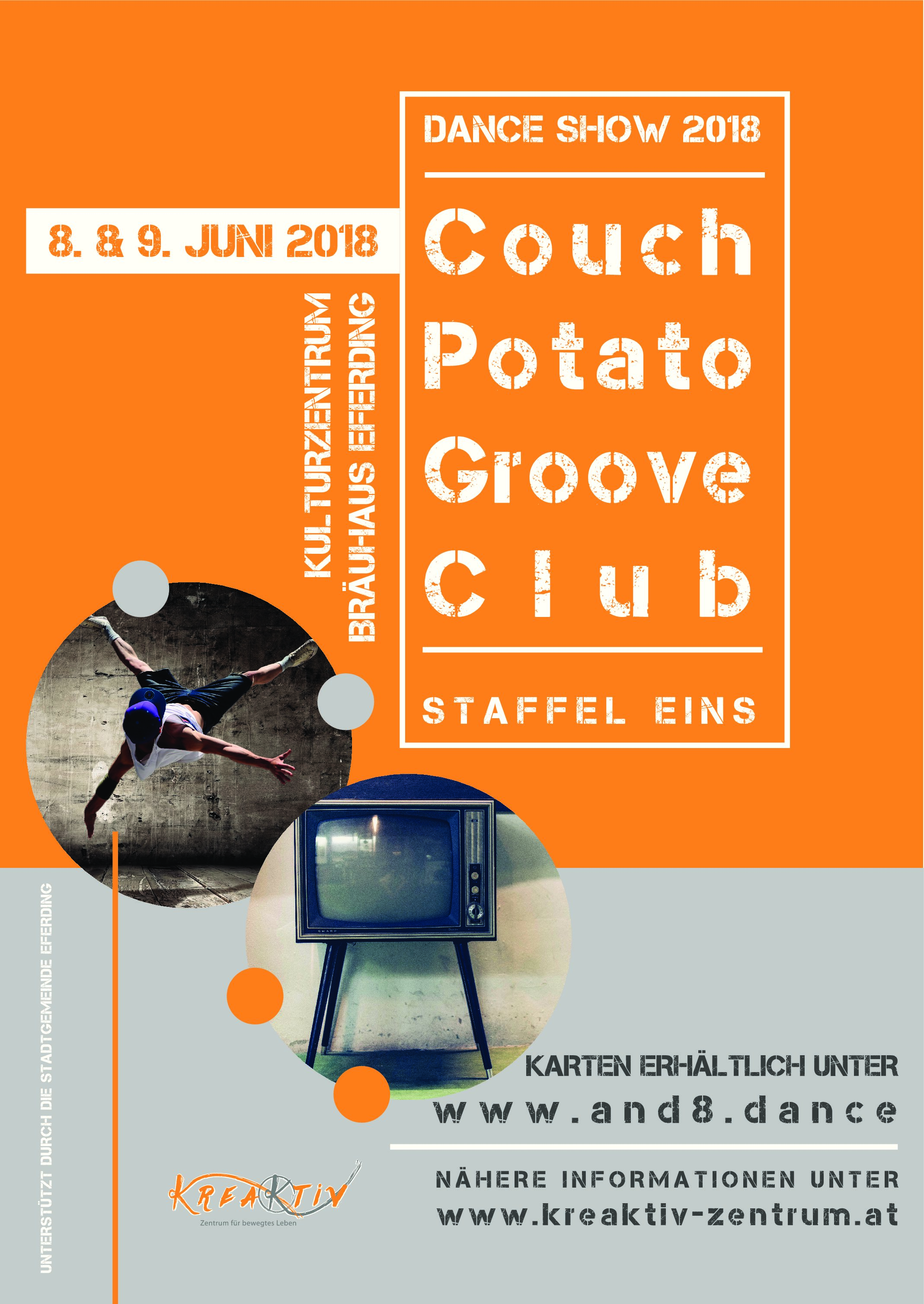 Couch Potato Groove Club  – Die Dance Show 2018